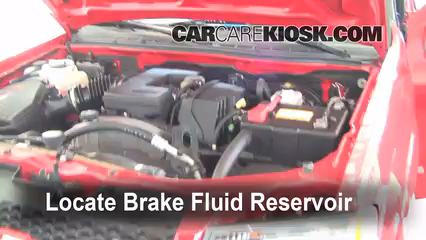 2007 Chevrolet Colorado LT 3.7L 5 Cyl. Crew Cab Pickup (4 Door) Brake Fluid Add Fluid