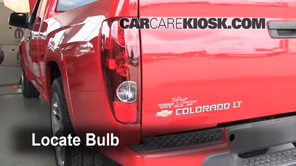 2007 Chevrolet Colorado LT 3.7L 5 Cyl. Crew Cab Pickup (4 Door) Lights Tail Light (replace bulb)