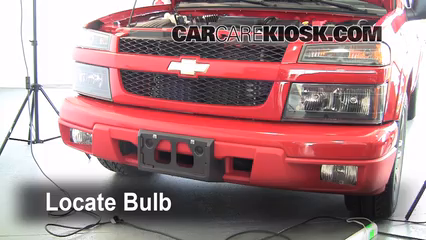 2007 Chevrolet Colorado LT 3.7L 5 Cyl. Crew Cab Pickup (4 Door) Lights Fog Light (replace bulb)