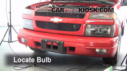 2007 Chevrolet Colorado LT 3.7L 5 Cyl. Crew Cab Pickup (4 Door) Lights Highbeam (replace bulb)
