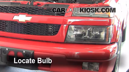 2007 Chevrolet Colorado LT 3.7L 5 Cyl. Crew Cab Pickup (4 Door) Lights Headlight (replace bulb)