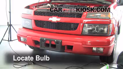 2007 Chevrolet Colorado LT 3.7L 5 Cyl. Crew Cab Pickup (4 Door) Lights Turn Signal - Front (replace bulb)