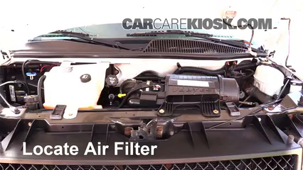 Air Filter How To 1996 2019 Chevrolet Express 3500 2007