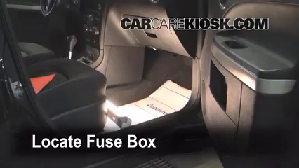 Interior Fuse Box Location 2006 2011 Chevrolet Hhr 2007