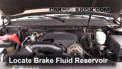 2007 Chevrolet Suburban 2500 LT 6.0L V8 Brake Fluid
