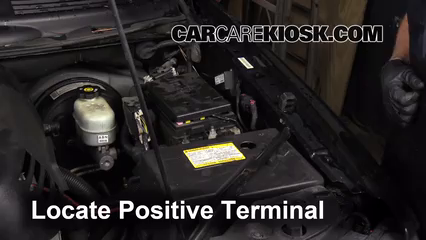 How To Jumpstart A 2002 2009 Chevrolet Trailblazer 2007