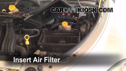 [DIAGRAM_0HG]  Air Filter How-To: 2001-2010 Chrysler PT Cruiser - 2007 Chrysler PT Cruiser  Limited 2.4L 4 Cyl. | 2007 Chrysler Pt Cruiser Fuel Filter Location |  | CarCareKiosk
