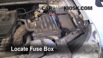 replace a fuse 2007 2010 chrysler sebring 2007 chrysler sebring rh carcarekiosk com  fuse box diagram 2007 chrysler sebring