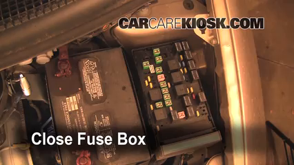 [DIAGRAM_3ER]  Replace a Fuse: 2005-2007 Dodge Grand Caravan - 2007 Dodge Grand Caravan  SXT 3.8L V6 | 2007 Dodge Caravan Fuse Box Location |  | CarCareKiosk