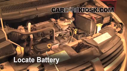 2007 Dodge Grand Caravan SXT 3.8L V6 Battery Jumpstart