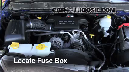 replace a fuse 2006 2008 dodge ram 1500 2007 dodge ram 1500 rh carcarekiosk com 2006 dodge ram 2500 fuse box location 2006 dodge ram fuse box cover