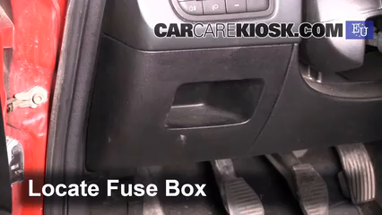 Interior Fuse Box Location 2005 2011 Fiat Grande Punto