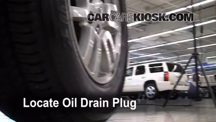 2007 Ford Expedition EL Eddie Bauer 5.4L V8 Oil Change Oil and Oil Filter