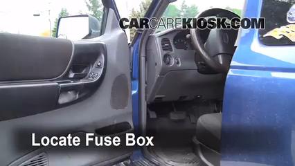 1999 ford explorer xlt fuse box diagram interior    fuse       box    location 2006 2011    ford    ranger 2007  interior    fuse       box    location 2006 2011    ford    ranger 2007