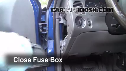 Interior Fuse Box Location 2006 2011 Ford Ranger 2008