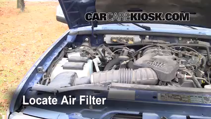 2007 Ford Ranger FX4 4.0L V6 (4 Door) Air Filter (Engine)