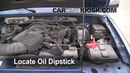 Check Oil Level 2006-2011 Ford Ranger - 2007 Ford Ranger FX4 4.0L V6