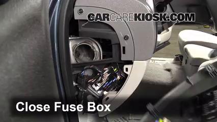Interior Fuse Box Location 2007 2013 Gmc Sierra 1500 2007 Gmc Sierra 1500 Sle 4 8l V8