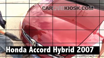 2007 Honda Accord Hybrid 3.0L V6 Review