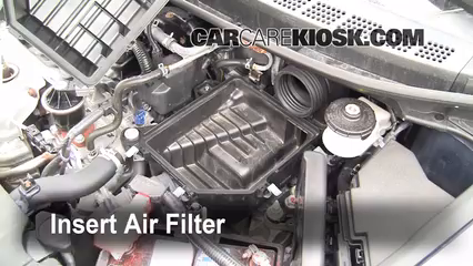 [SCHEMATICS_43NM]  2006-2011 Honda Civic Engine Air Filter Check - 2007 Honda Civic LX 1.8L 4  Cyl. Sedan (4 Door) | 2007 Honda Civic Fuel Filter Location |  | CarCareKiosk