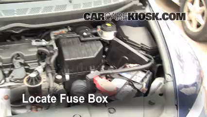 replace a fuse 2006 2011 honda civic 2007 honda civic lx 1 8l 4 rh carcarekiosk com 2002 Honda Civic Fuse Box Diagram 2000 Honda Civic Fuse Panel