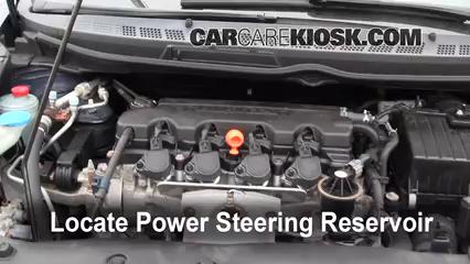 Fix Power Steering Leaks Honda Civic 2006 2011 2007 Honda Civic
