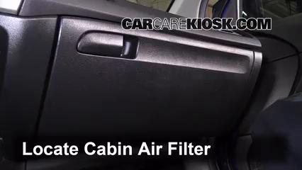 Awesome How To Access The Old Cabin Air Filter