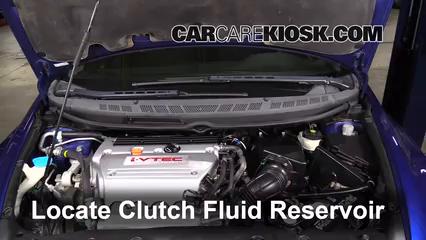 2008 honda civic si manual transmission fluid type
