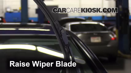 Front Wiper Blade Change Honda Civic (2006 2011)