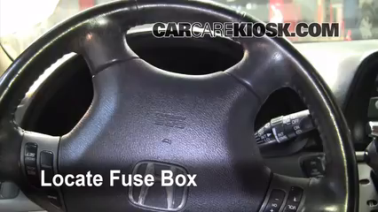 Interior Fuse Box Location 20052010 Honda Odyssey 2007 Honda – Klr 650 Fuse Box Location