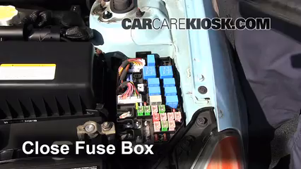 [SCHEMATICS_4UK]  Replace a Fuse: 2006-2011 Hyundai Accent - 2010 Hyundai Accent GS 1.6L 4  Cyl. | 2010 Accent Fuse Box |  | CarCareKiosk