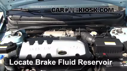 2007 Hyundai Accent SE 1.6L 4 Cyl. Brake Fluid