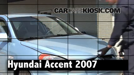2007 Hyundai Accent SE 1.6L 4 Cyl. Review