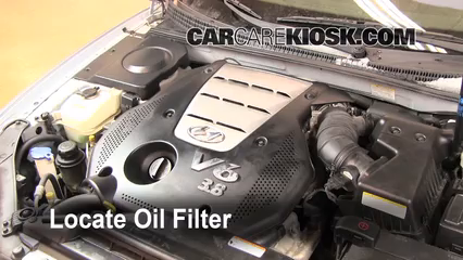 find oil filter locate the oil filter