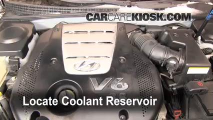 coolant flush how to hyundai azera 2006 2011 2007 hyundai azera rh carcarekiosk com  2006 hyundai azera engine diagram