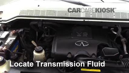Transmission Fluid Level Check Infiniti QX56 (2004-2010