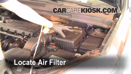 2007 kia rondo lx 2 4l 4 cyl  air filter (engine) replace