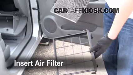 Cabin Filter Replacement: Kia Rondo 2007-2010 - 2007 Kia ...