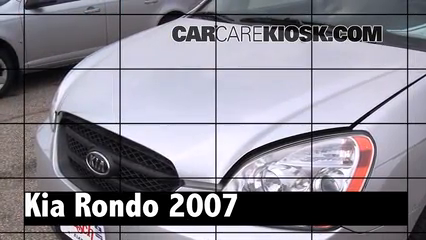 2007 Kia Rondo LX 2.7L V6 Review