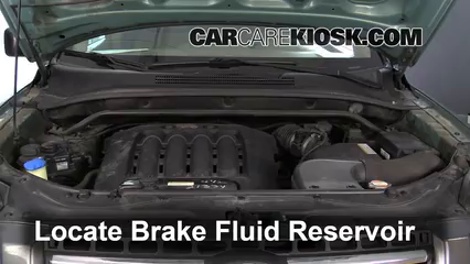 2007 Kia Sportage LX 2.7L V6 Brake Fluid Check Fluid Level