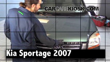2007 Kia Sportage LX 2.7L V6 Review