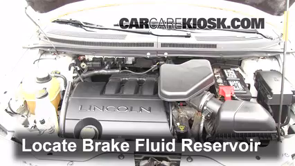2007 Lincoln MKX 3.5L V6 Brake Fluid Add Fluid