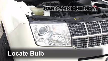 2007 Lincoln MKX 3.5L V6 Lights Highbeam (replace bulb)