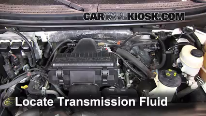 2007 lincoln mark lt 5 4l v8 transmission fluid
