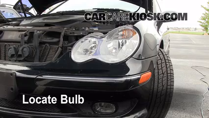 2007 Mercedes Benz C230 Sport 2.5L V6 FlexFuel%2FLights HL Part 1 headlight change 2001 2007 mercedes benz c230 2007 mercedes benz  at fashall.co