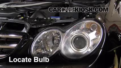 Headlight Change 2003-2009 Mercedes-Benz CLK550 - 2007