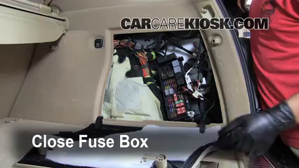 Interior Fuse Box Location: 2006-2011 Mercedes-Benz ML350 - 2007