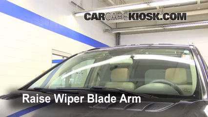 2007 Mercedes-Benz ML350 3.5L V6 Windshield Wiper Blade (Front) Replace Wiper Blades