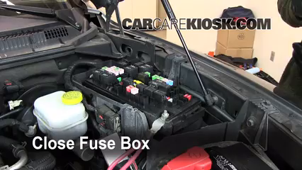 2007 Mitsubishi Raider LS 3.7L V6 Extended Cab Pickup%2FFuse Engine Part 2 interior fuse box location 2006 2009 mitsubishi raider 2006 2006 dodge dakota fuse box location at gsmx.co