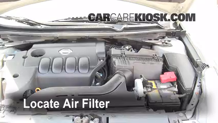 Air Filter How To: 2007 2013 Nissan Altima